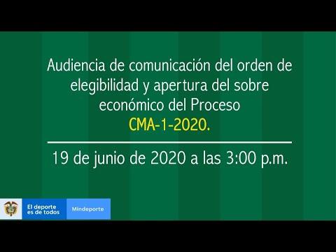 Audiencia Pública CMA - 1 - 2020