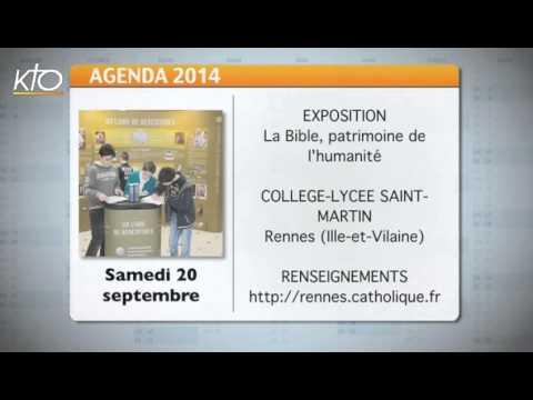 Agenda du 15 septembre 2014