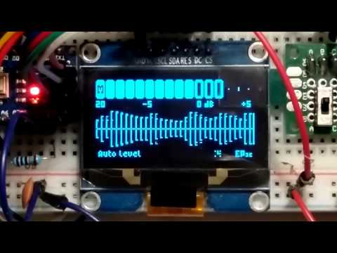 Arduino Due FFT audio spectrum analyser - смотреть онлайн на
