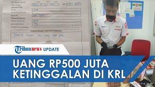 Uang Rp500 Juta Ditemukan Petugas Kebersihan Dalam Gerbong KRL, Kini Telah Dikembalikan ke Pemilik