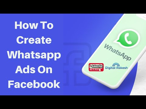 How to create whatsapp ads on facebook