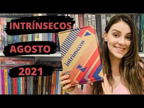 UNBOXING CAIXA INTRÍNSECOS -  Agosto 2021 #35 + Clubes de Leitura | Bruna Aléssio