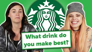 Starbucks Employees Answer Your Questions thumbnail