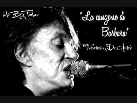 """, title : 'Fabrizio De André - """"La canzone di Barbara""""'"""