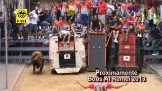 preview picture of video 'Bous a Lliria  (Trailer Bous al Remeí 2013)'