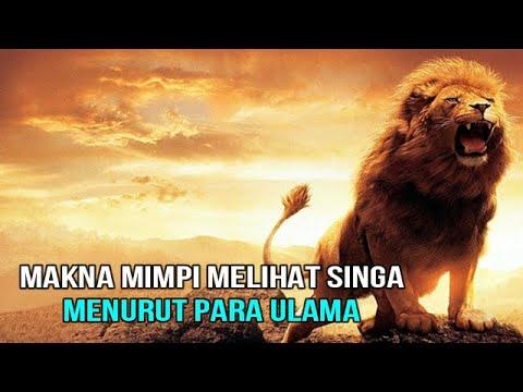 Makna Mimpi Melihat Singa, Menurut Para Ulama
