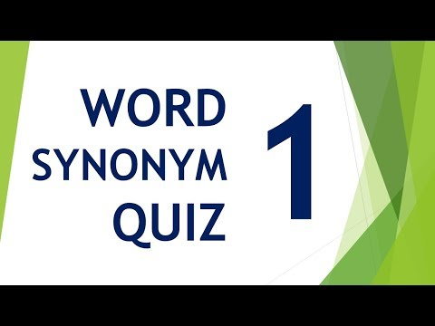 Download Will You Pass Word Synonym Quiz ?? Episode 01 Mp4 HD Video and MP3