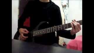 no leaf clover guitar cover (damnation angels Version)
