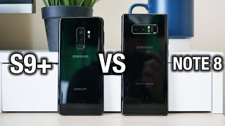 Samsung Galaxy S9+ vs Galaxy Note 8: Tough one... | Pocketnow