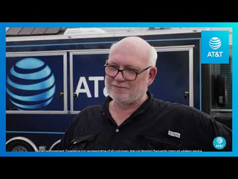 AT&T Supports Network and Customers after Hurricane Laura-YoutubeVideoText