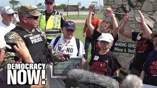 Japanese-American Internment Survivors Protest Plan to Jail Migrant Kids At Fort Sill, a WWII Camp