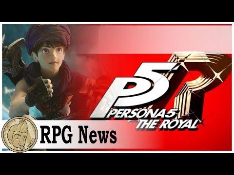 All The Persona 5 News! Dragon Quest Movie Looks Rad!