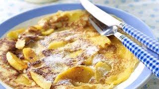 Mini-pannenkoekjes met appel