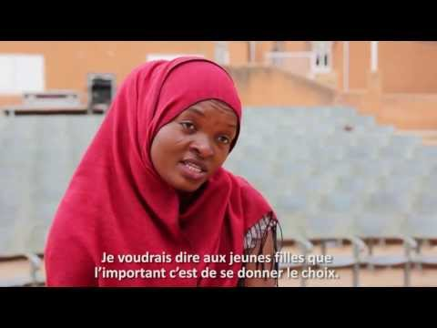 Fati Niger s'adresse aux jeunes filles