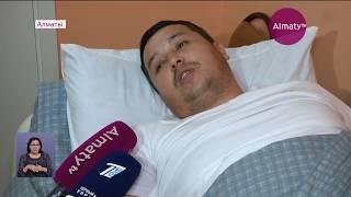 Митинг кезінде зардап шеккен полиция қызметкеріне Алматы қаласы әкімінің алғыс хаты тапсырылды
