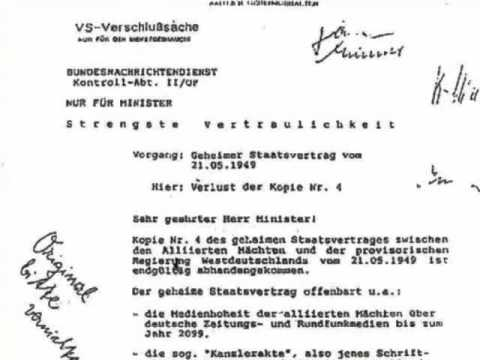 Geheimer Staatsvertrag 1949 Pdf