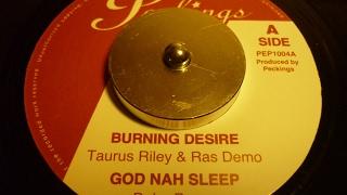 BURNING DESIRE RIDDIM   PECKINGS RECORD
