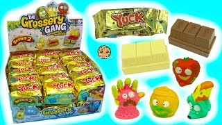 Full Box 30 Series 2 Yuck Candy Bar Surprise Blind Bags with Color Changing Grossery Gang