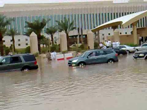 امطار مدينة الرياض الدائري الشرقي 2