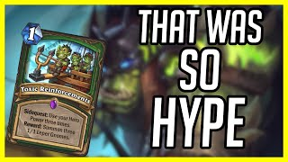 (Hearthstone Budget) That was SO HYPE!!! | How to Play Budget Face Hunter | Ashes of Outland