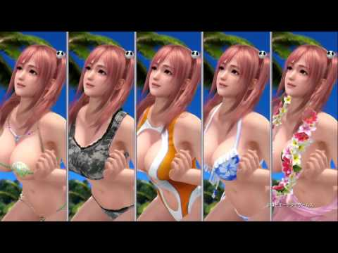 DEAD OR ALIVE Xtreme 3 - Second Gameplay trailer thumbnail