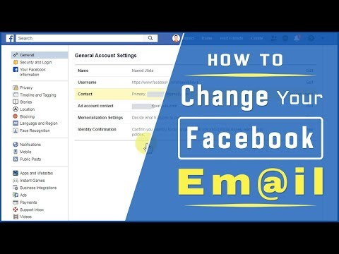 How To Change Your Primary Email Address On Facebook [UPDATED 2020]