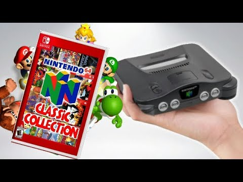 Did Nintendo Just ACCIDENTALLY REVEAL The N64 Classic!? (видео)
