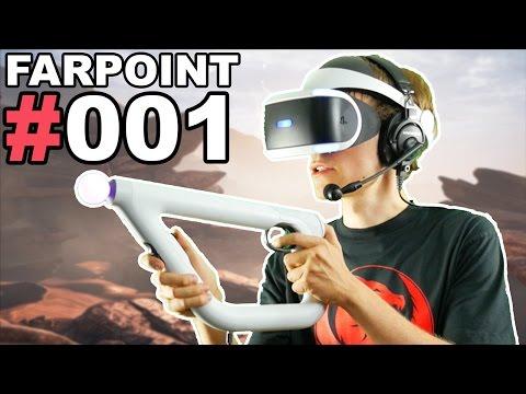 DAS BESTE PLAYSTATION VR SPIEL + AIM CONTROLLER 🐲 Let's Play Farpoint VR #001 [Facecam/Deutsch]
