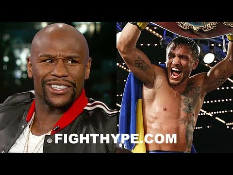 MAYWEATHER REACTS TO LOMACHENKO COMPARISON AND TKO OF RIGONDEAUX; EXPLAINS LEVELS OF GREATNESS