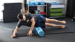 ITB FOAM ROLLER - with our physiotherapist, Michael Hasson