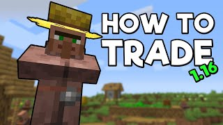 How to Trade with Villagers in Minecraft 1.16.3