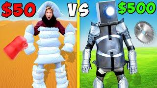 $50 vs $500 Full Body Armor! *BUDGET CHALLENGE*