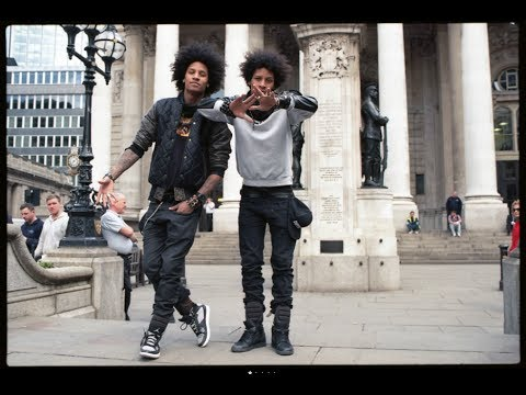 LES TWINS on London Beyonce Tour…
