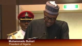 President Muhammadu Buhari Speaks on Improving Nigeria Television Authority (NTA)
