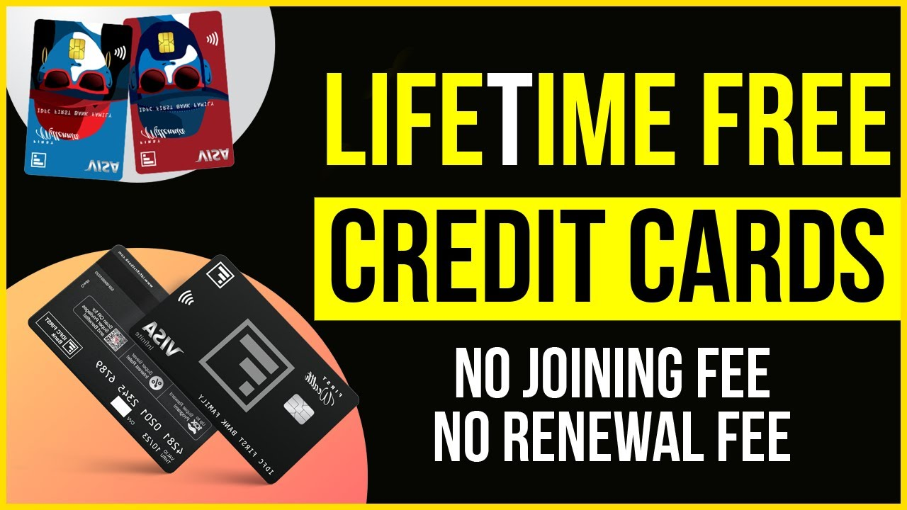 LIFE TIME FREE CREDIT CARDS | Best Lifetime Free Credit Cards in India thumbnail