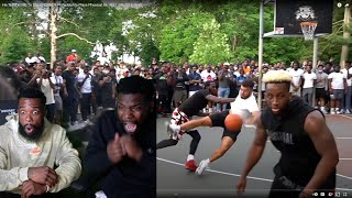 I LIKES THIS!! He THREW ME To The GROUND!! Philadelphia Plays Physical As HELL (Mic'd Up 5v5)