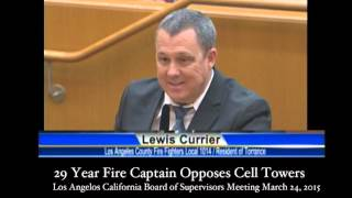 """Firefighter Calls FCC Standards """"Antiquated"""" and Not Protective"""
