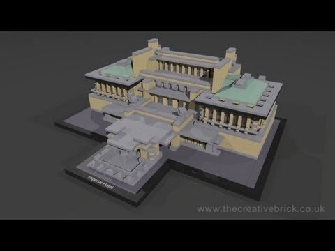 Vidéo LEGO Architecture 21017 : Hôtel impérial (Tokyo, Japon)