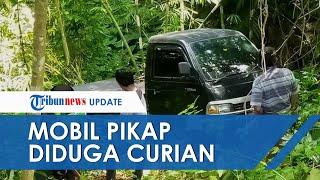 Polisi Sebut Mobil Pikap yang Ditemukan di Tengah Hutan Diduga Hasil Curian