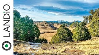 Land For Sale : 37 Acre Mountain Homesite with Power & World-Class Views near Trinidad