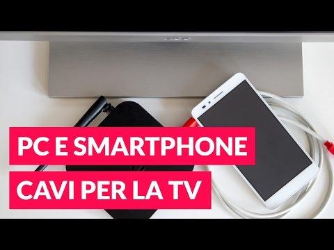 Mirroring: collegare Smartphone e PC alla TV tramite cavi • Ridble