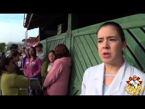 Enfermeira Andressa explica sobre a Situação da Fila da Agunia