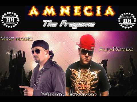 Mike Magic Amnecia ft Alfaromio The Golden Boy