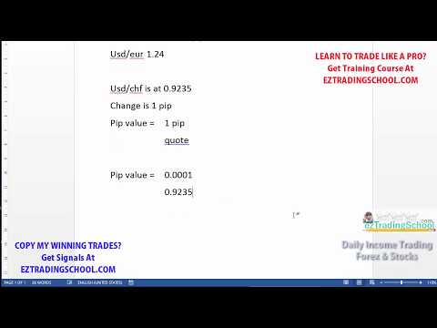 How do you find value trading forex