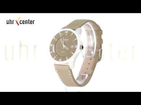 Boccia 3226-05 Keramik Damen-Armbanduhr