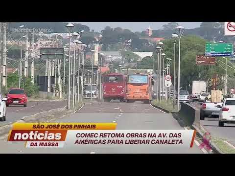 Comec retoma obras na Av. das Américas - Notícias da Massa (14/10/19)
