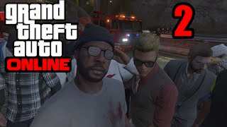GTA 5 Online PS4 - OUT OF AMMO! (GTA V Online PS4)   Part 2