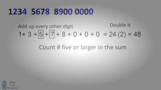 A Secret Code in Credit Card Numbers   The Magic of Mathematics