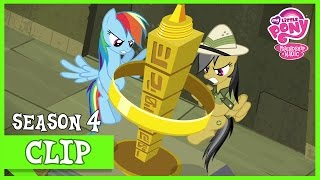 "MLP: FiM - Rainbow Dash Helps Daring Do ""Daring Don"