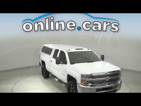 Pre-Owned 2018 Chevrolet Silverado 2500HD Work Truck